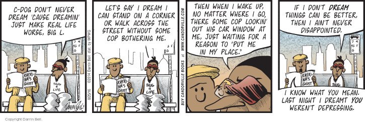 Comic Strip Darrin Bell  Candorville 2016-08-25 racial