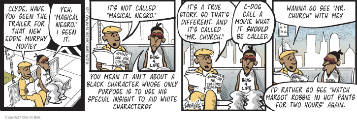 Comic Strip Darrin Bell  Candorville 2016-08-29 movie character