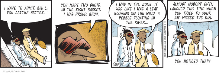 Comic Strip Darrin Bell  Candorville 2016-09-10 basketball player