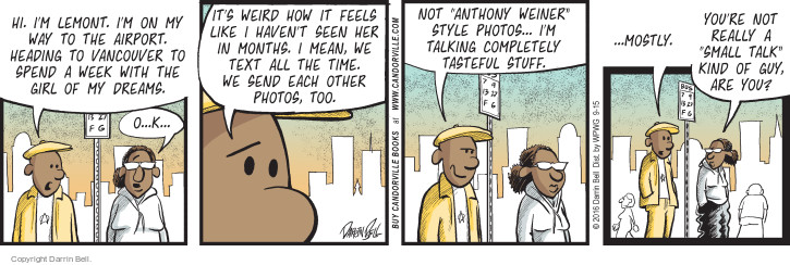 Comic Strip Darrin Bell  Candorville 2016-09-15 photo