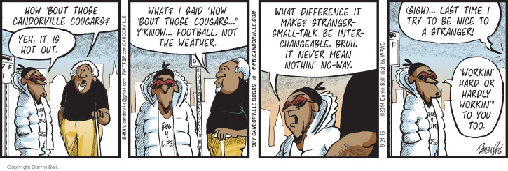 Comic Strip Darrin Bell  Candorville 2016-09-21 football team