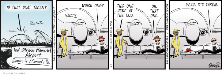 Comic Strip Darrin Bell  Candorville 2016-09-29 passenger
