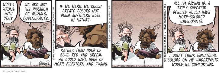 Comic Strip Darrin Bell  Candorville 2016-10-07 nature