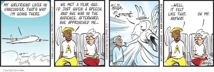 Comic Strip Darrin Bell  Candorville 2016-10-11 audience