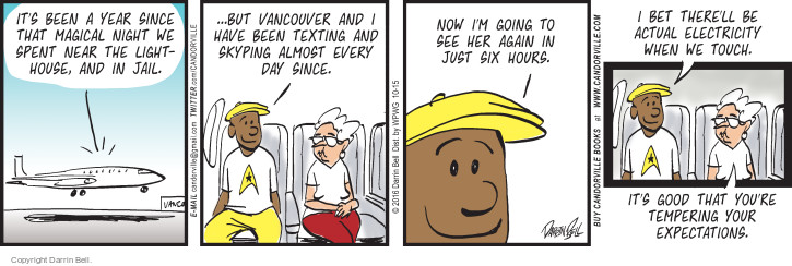 Comic Strip Darrin Bell  Candorville 2016-10-15 touch