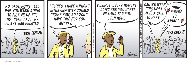 Comic Strip Darrin Bell  Candorville 2016-10-18 call