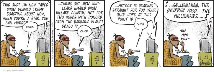 Comic Strip Darrin Bell  Candorville 2016-10-25 murder
