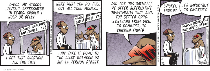 Comic Strip Darrin Bell  Candorville 2016-11-01 stock market