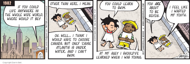 Comic Strip Darrin Bell  Candorville 2016-11-21 childhood