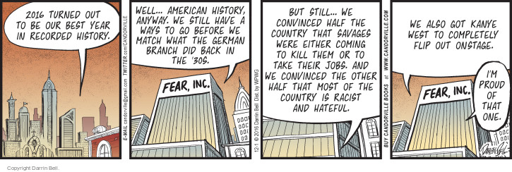 Comic Strip Darrin Bell  Candorville 2016-12-01 American History