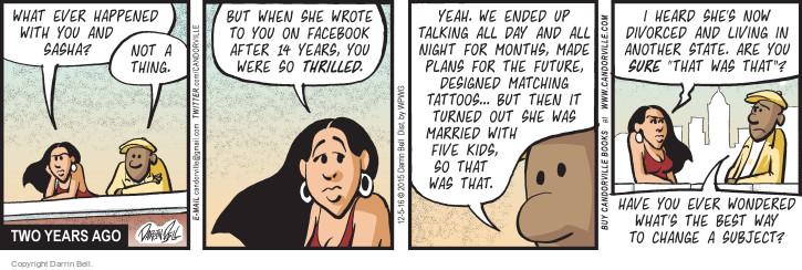 Comic Strip Darrin Bell  Candorville 2016-12-05 best thing