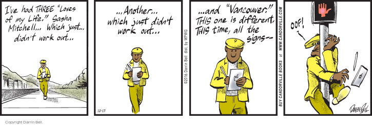 Comic Strip Darrin Bell  Candorville 2016-12-13 love