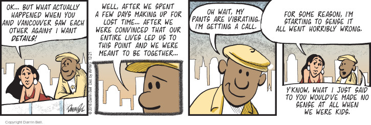 Comic Strip Darrin Bell  Candorville 2016-12-21 call