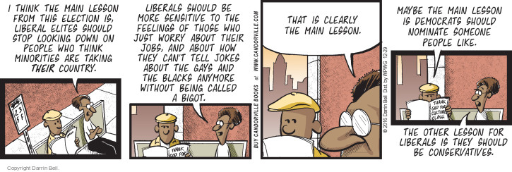 Comic Strip Darrin Bell  Candorville 2016-12-29 nominee