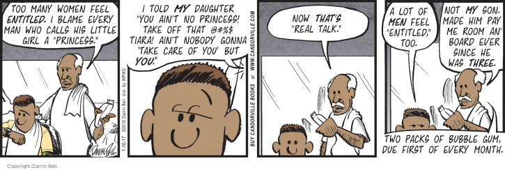 Comic Strip Darrin Bell  Candorville 2017-01-10 father daughter