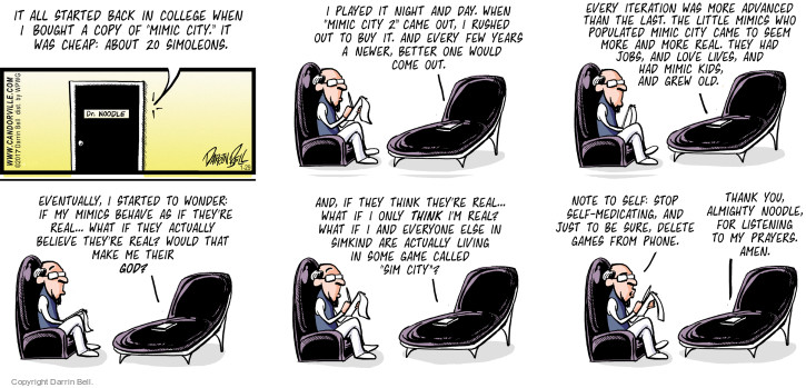 Comic Strip Darrin Bell  Candorville 2017-01-29 real life