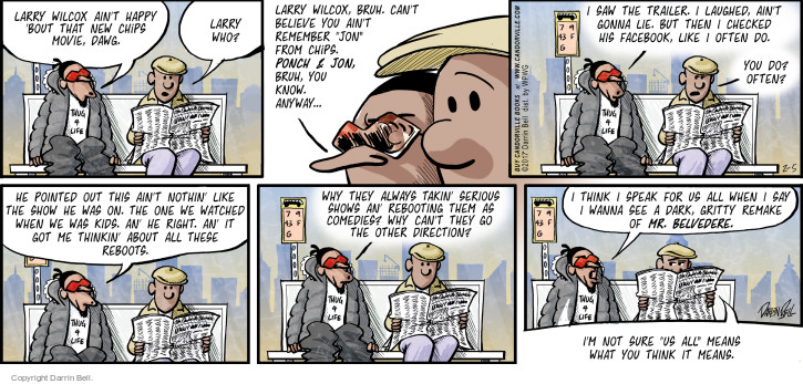 Comic Strip Darrin Bell  Candorville 2017-02-05 Facebook like