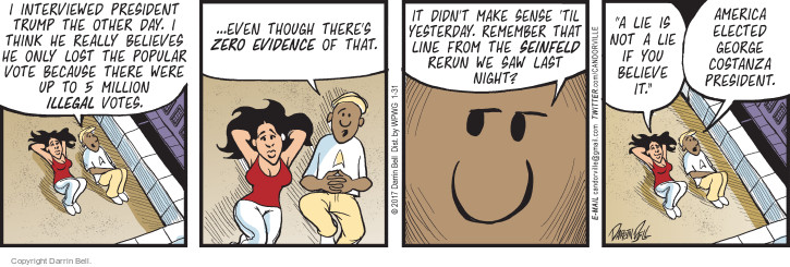 Comic Strip Darrin Bell  Candorville 2017-01-31 line-up