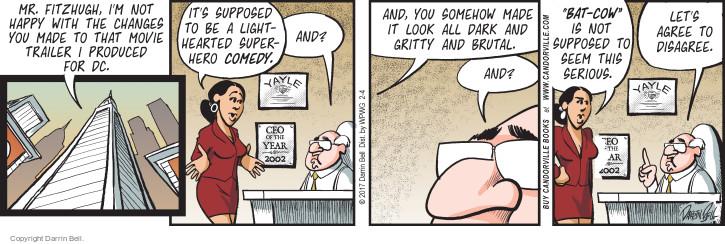 Comic Strip Darrin Bell  Candorville 2017-02-04 hero