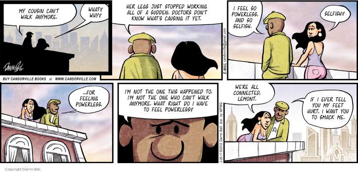 Comic Strip Darrin Bell  Candorville 2017-02-26 anymore