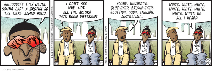 Comic Strip Darrin Bell  Candorville 2017-02-27 brown