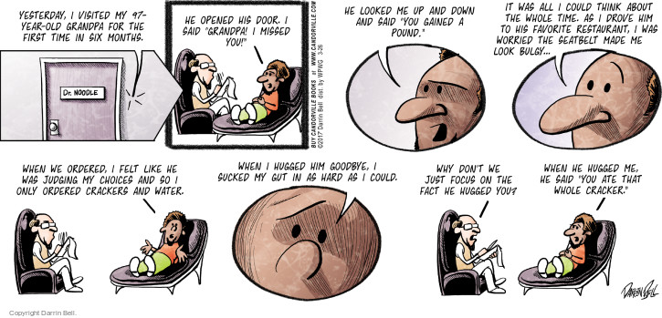 Comic Strip Darrin Bell  Candorville 2017-03-26 grandfather
