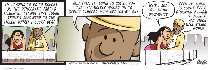 Comic Strip Darrin Bell  Candorville 2017-04-05 media coverage