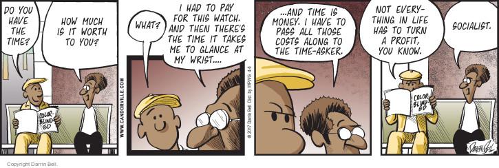 Comic Strip Darrin Bell  Candorville 2017-04-06 socialist