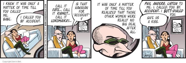 Comic Strip Darrin Bell  Candorville 2017-05-27 till
