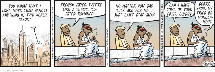 Comic Strip Darrin Bell  Candorville 2017-08-05 more