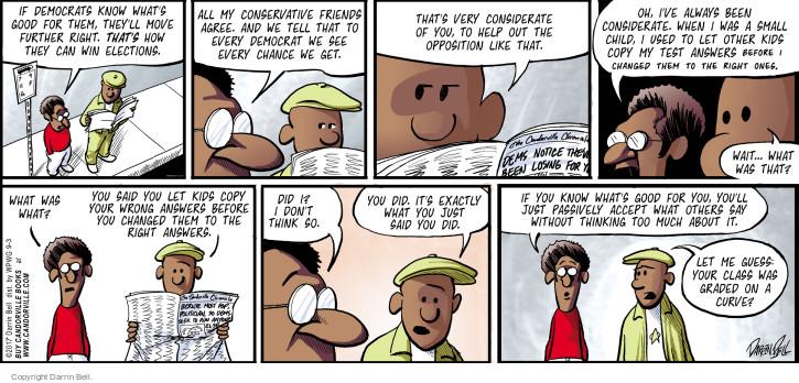 Comic Strip Darrin Bell  Candorville 2017-09-03 election