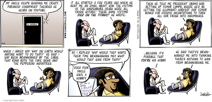 Comic Strip Darrin Bell  Candorville 2017-09-10 Barack Obama