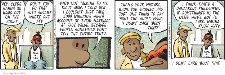 Comic Strip Darrin Bell  Candorville 2017-09-01 philosophy