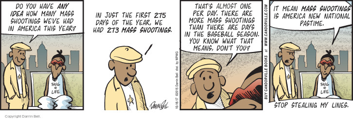 Comic Strip Darrin Bell  Candorville 2017-10-16 baseball