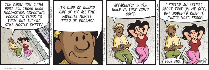 Comic Strip Darrin Bell  Candorville 2017-11-04 build