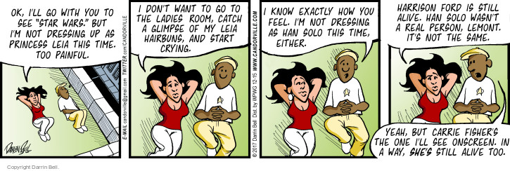 Comic Strip Darrin Bell  Candorville 2017-12-15 movie star