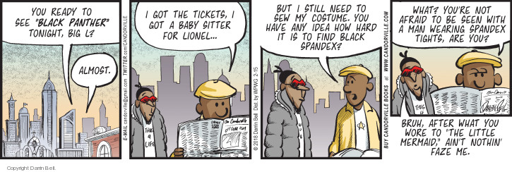Comic Strip Darrin Bell  Candorville 2018-02-15 movie ticket
