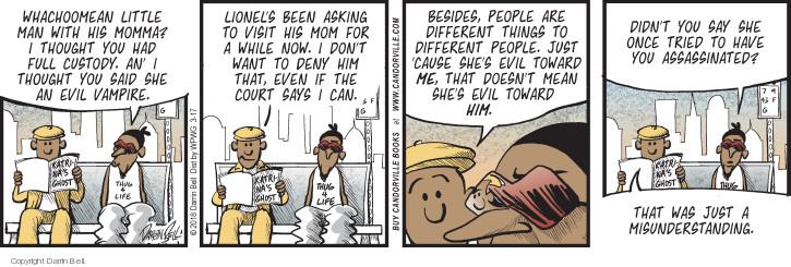 Comic Strip Darrin Bell  Candorville 2018-03-17 little child