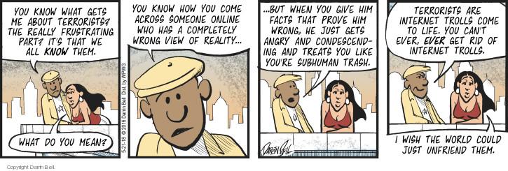 Comic Strip Darrin Bell  Candorville 2018-05-21 treat