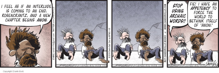 Comic Strip Darrin Bell  Candorville 2018-06-08 speech