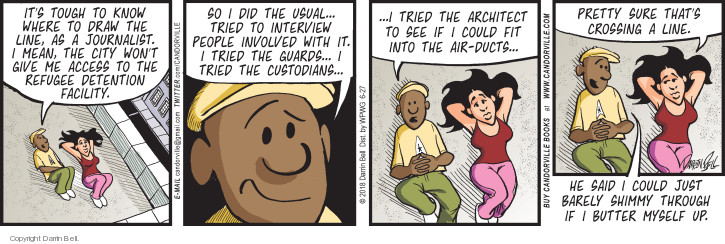 Comic Strip Darrin Bell  Candorville 2018-06-27 air