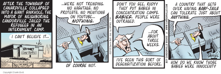 Comic Strip Darrin Bell  Candorville 2018-07-09 attention span