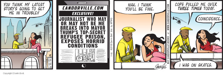 Comic Strip Darrin Bell  Candorville 2018-07-16 latest