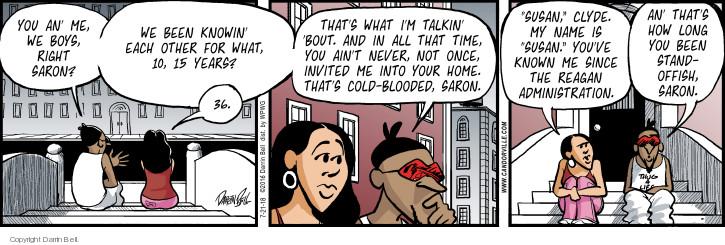 Comic Strip Darrin Bell  Candorville 2018-07-21 invite