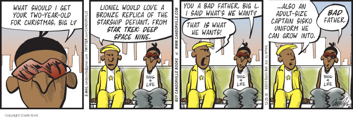 Comic Strip Darrin Bell  Candorville 2018-12-20 father