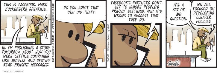 Comic Strip Darrin Bell  Candorville 2018-12-26 Facebook like