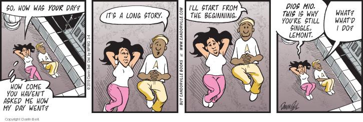 Comic Strip Darrin Bell  Candorville 2019-03-04 story