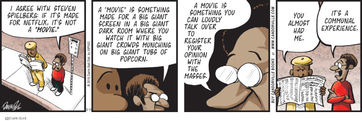 Comic Strip Darrin Bell  Candorville 2019-03-11 movie film