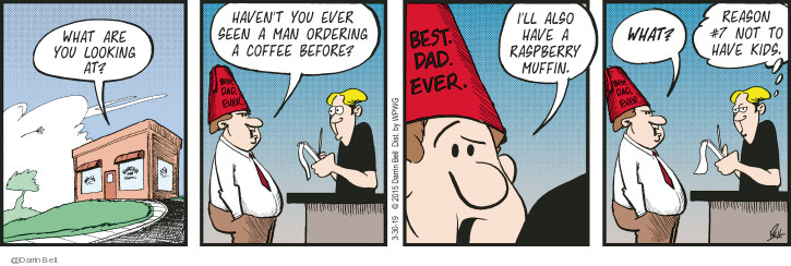 Comic Strip Darrin Bell  Candorville 2019-03-30 hat