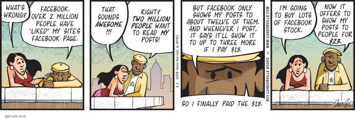 Comic Strip Darrin Bell  Candorville 2019-04-02 Facebook like